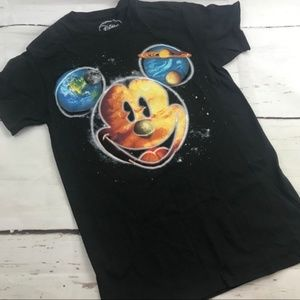 Disney Mickey Mouse Spacey galaxy graphic T-shirt